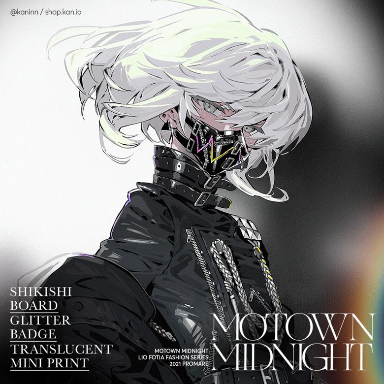 Image of Motown Midnight: Shikishi, Badge, Mini Print (A set)/ Promare