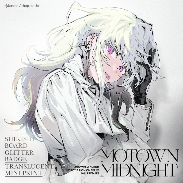Image of Motown Midnight: Shikishi, Badge, Mini Print (B set)/ Promare