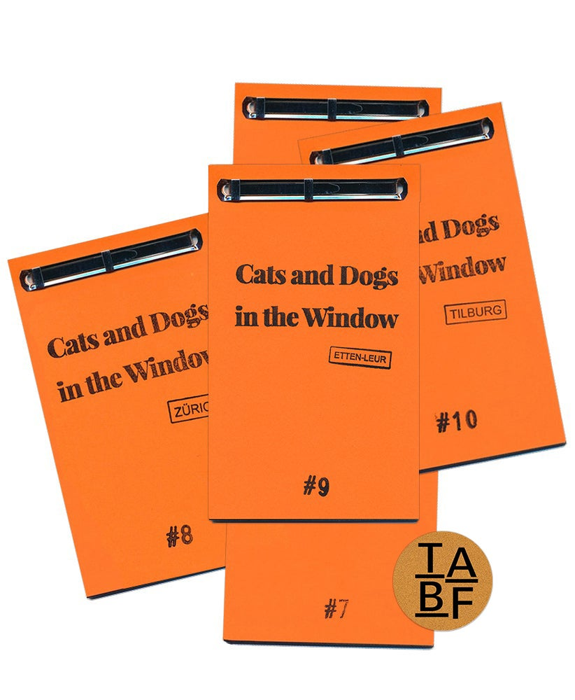 Image of [SIGNED]「Cats and Dogs in the Window」editions / エディション