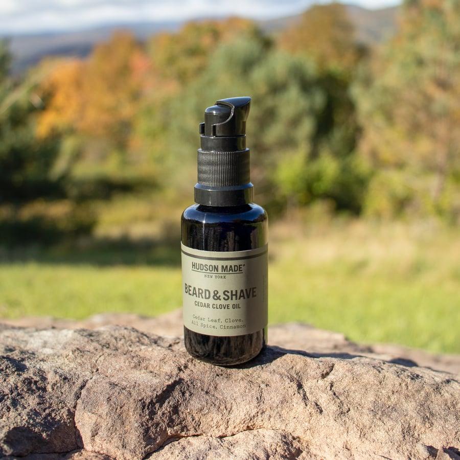 Image of Cedar Clove Beard & Shave Oil by Hudson Made