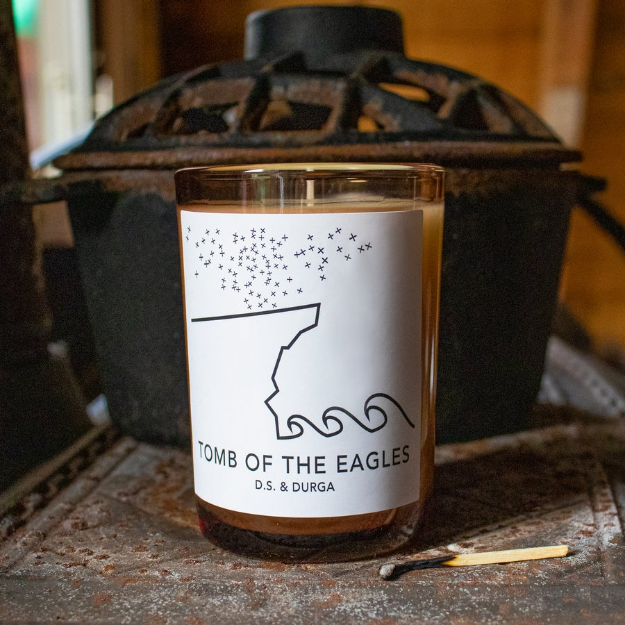 Image of Tomb of the Eagles Candle by D.S. & Durga