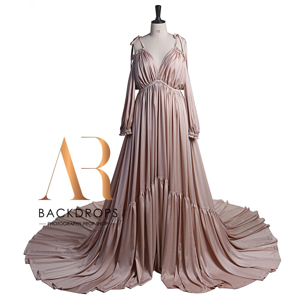 Image of Albina Silk Gown