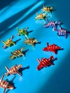 BARBED WIRE STUD EARRINGS - ALL COLOURS