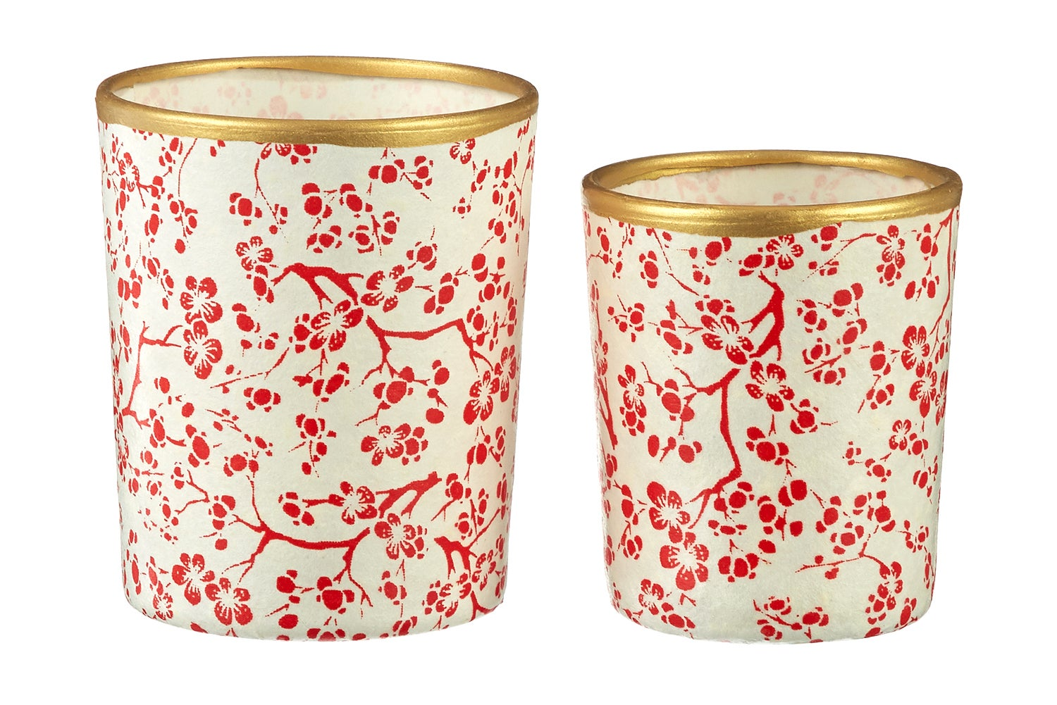 Image of Candle holders * Twig * Red
