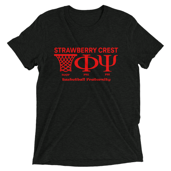 Image of HOOP PHI PSI Basketball Fraternity (Strawberry Crest)