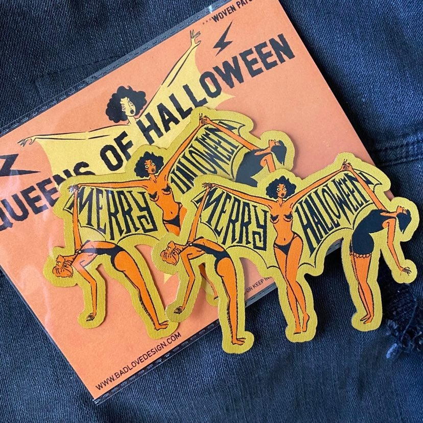 Image of Queens of Halloween (sew-on) Patch