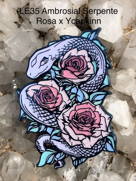 Image of Ambrosial Serpente Rosa x ycapkinn