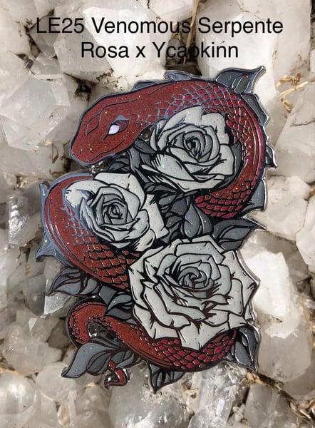 Image of Venomous Serpente Rosa x ycapkinn