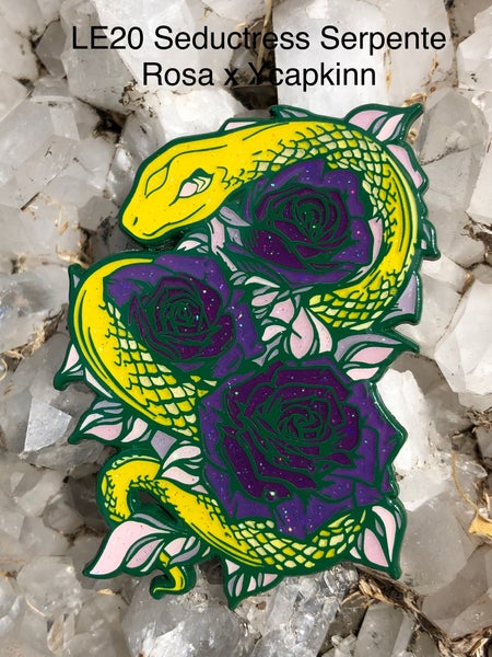 Image of Seductress Serpente Rosa x ycapkinn