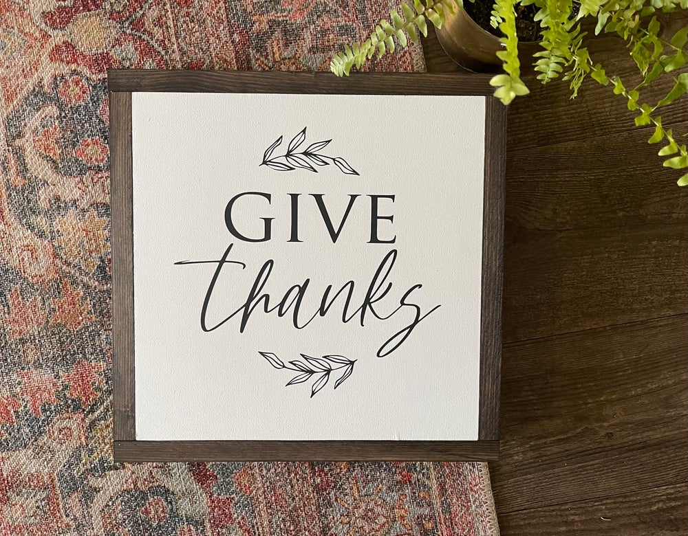 Image of Give Thanks.