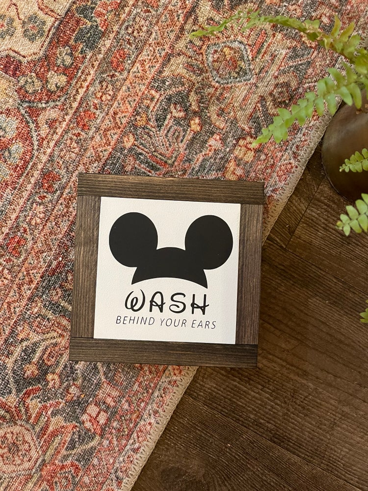 Image of Wash Behind Your Ears