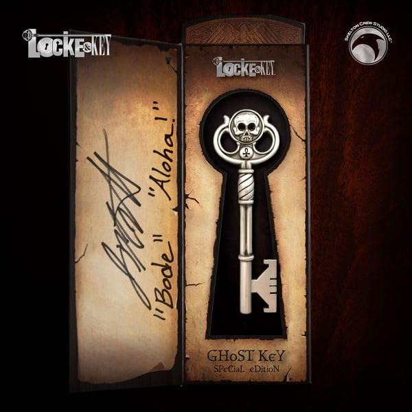 Image of Locke & Key: SIGNED Special Edition Ghost Key! FREE U.S. SHIPPING THRU 10/26!