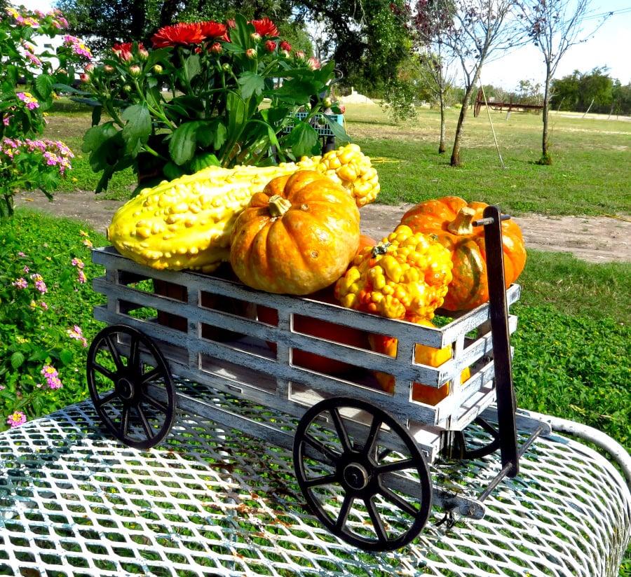 Image of Fall Hay Wagon- Large Kit