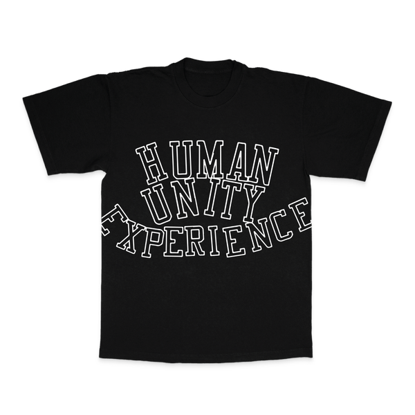 Image of human unity over size print t