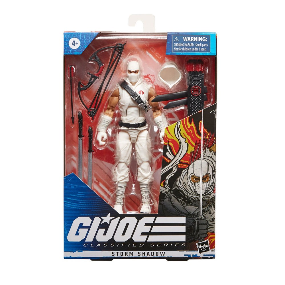 Image of G.I. Joe Classified Series 6-Inch Storm Shadow Action Figure
