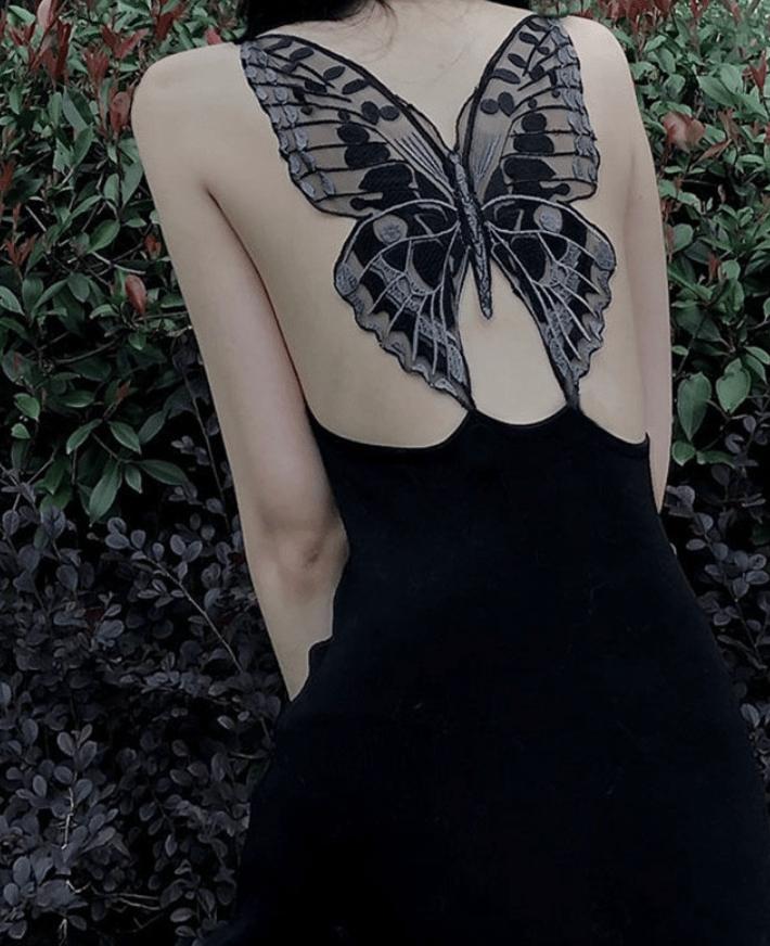 Image of Butterfly Wings Dress
