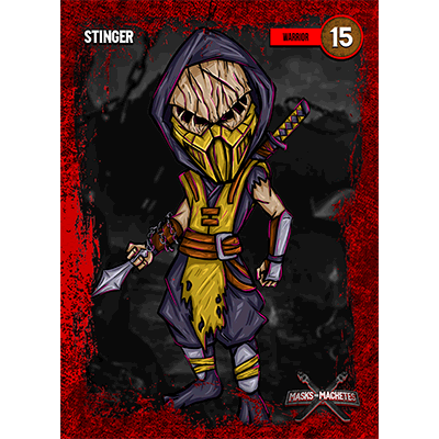 """Image of """"Stinger"""" Solo Card"""