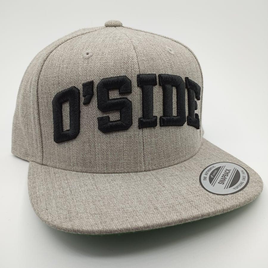 Image of O'SIDE Snapback (Ash)