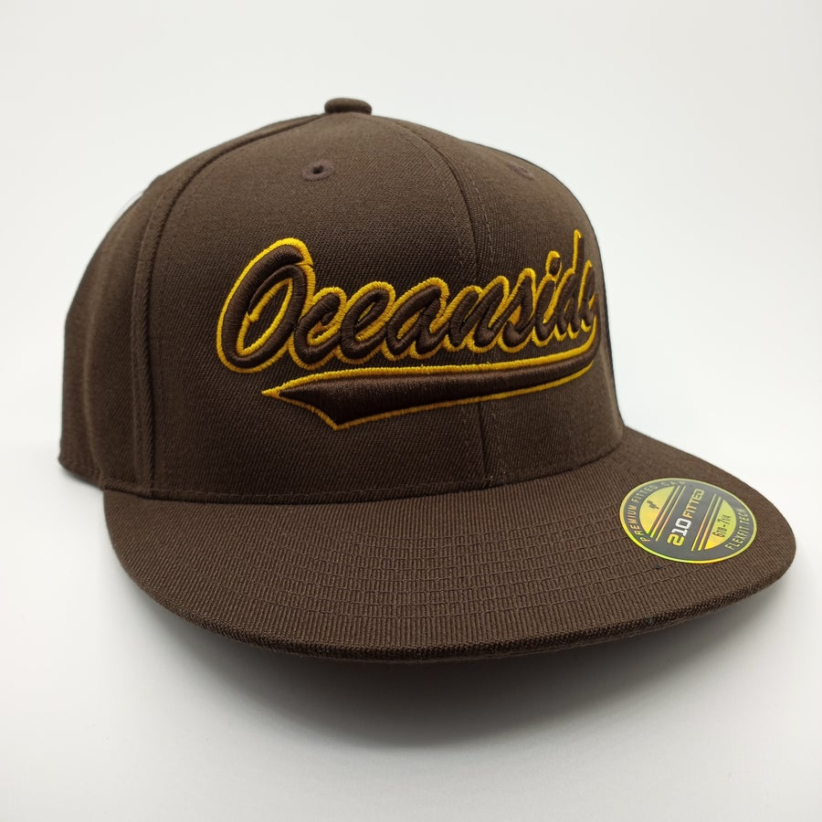 Image of Vintage II Brown & Gold (Fitted)