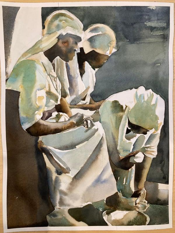 Image of Foot Washing