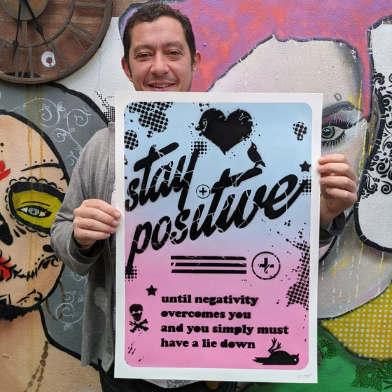 Image of Stay positive