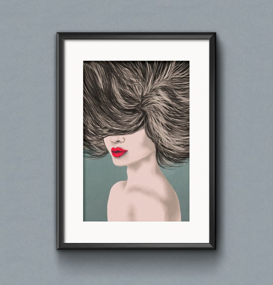 """Image of """"Windy hair"""""""