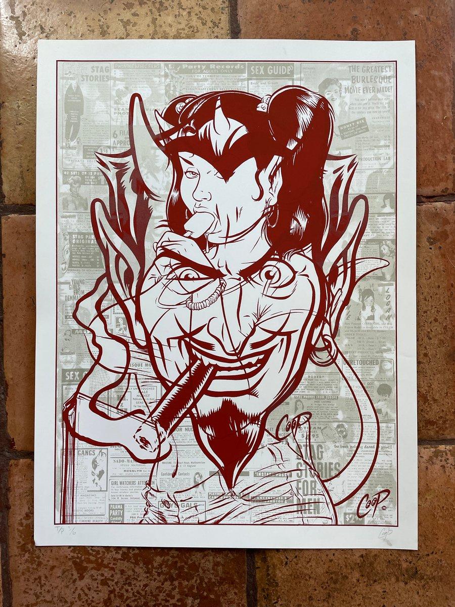 Image of TEST PRINT TUESDAY #5 Devil/Devil Girl
