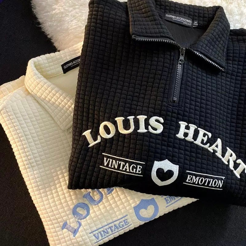 Image of Louis Heart Sweater