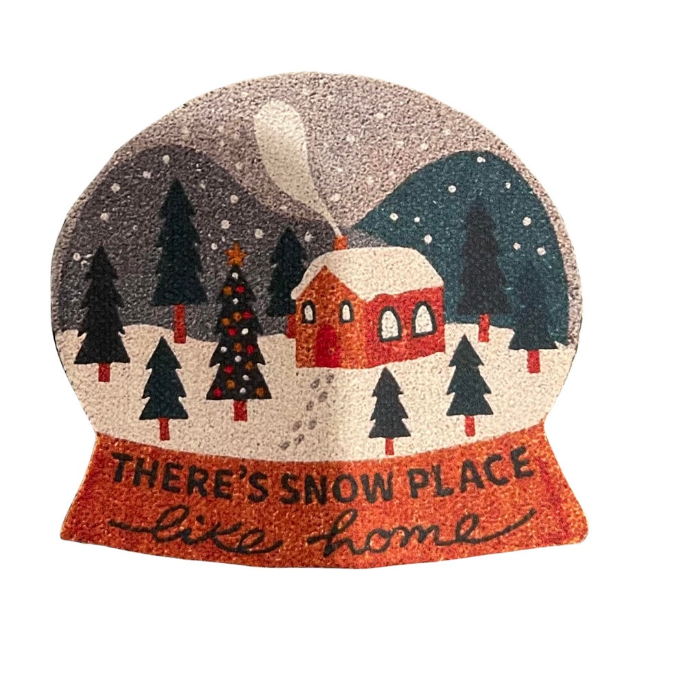 Image of Snow Globe Dollhouse Doormat