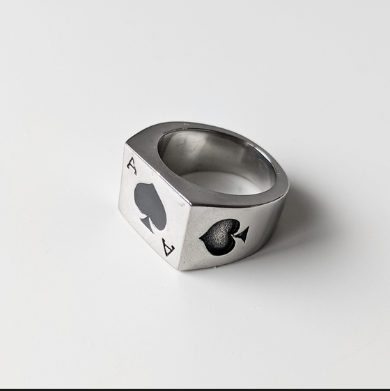 Image of Ace Of Spades Ring