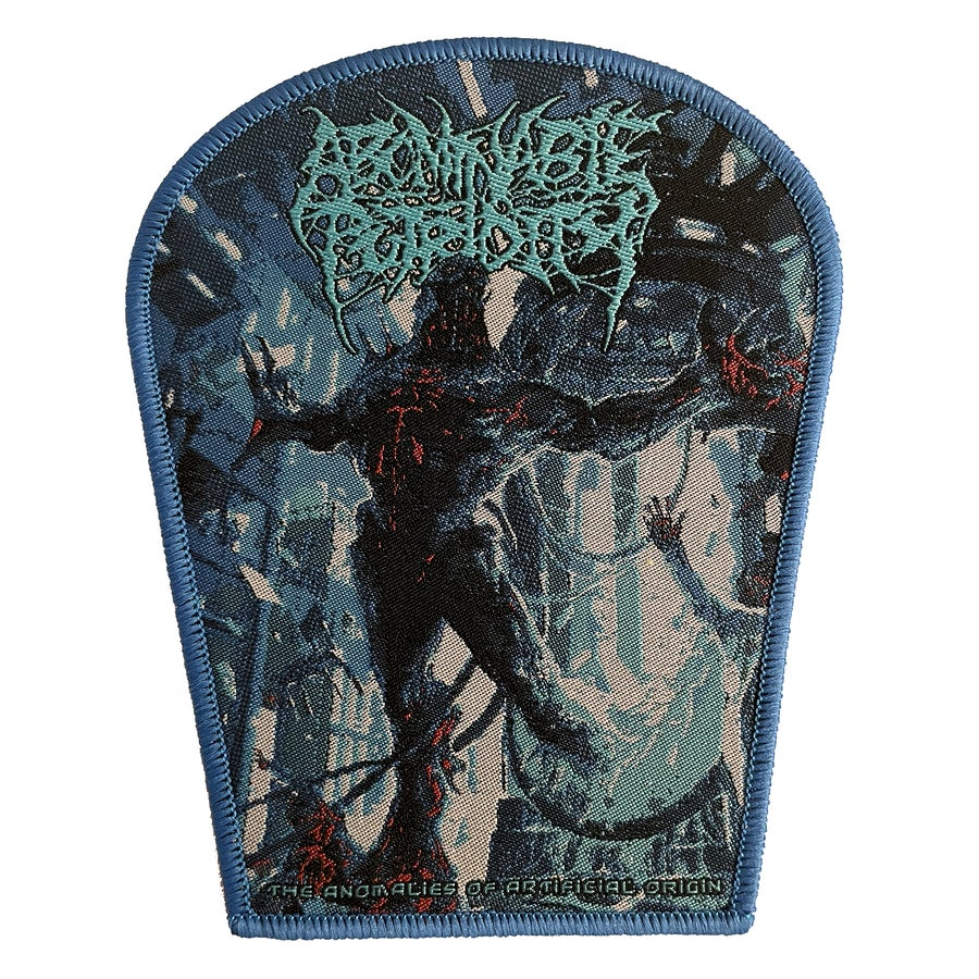Image of Abominable Putridity - The Anomalies of Artificial Origin - Patch - Blue Border