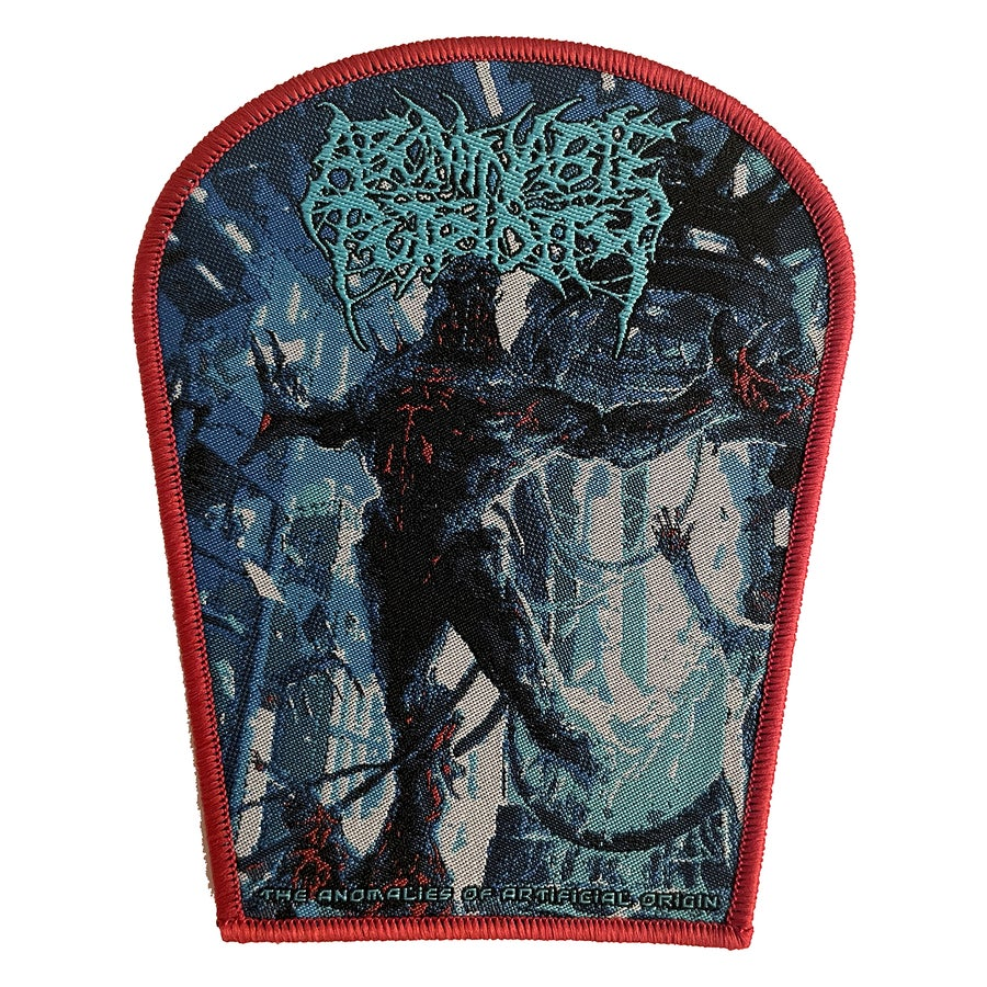 Image of Abominable Putridity - The Anomalies of Artificial Origin - Patch - Red Border