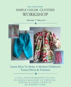 Image of Children's Summer Clothes Workshop - May 15th