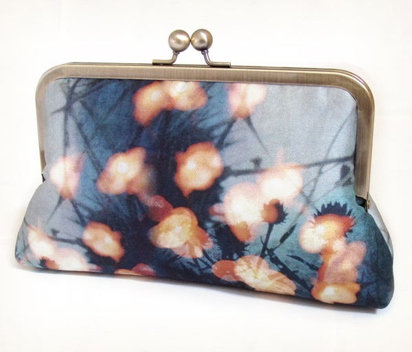 Image of Forest lights clutch bag