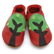 Image of Trees Soft Baby Shoes