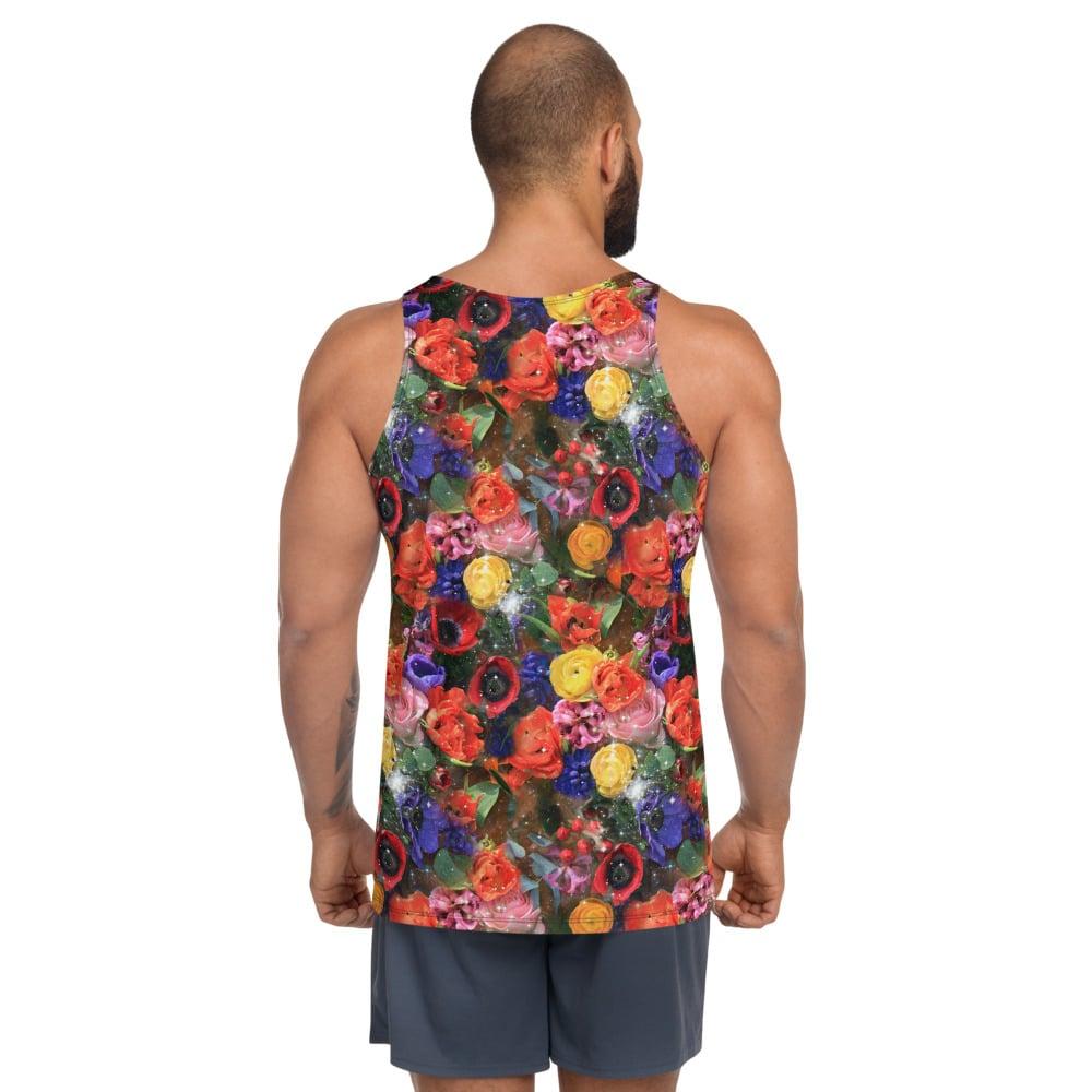 Image of Cosmic Bloom Men's Tank Top