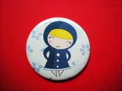 "Image of Pocket Mirror ""Russian Lady"""