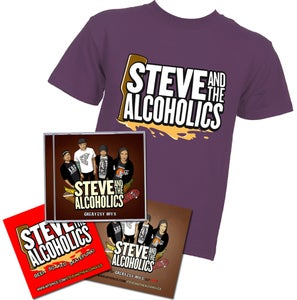 Image of Merch Kit (T-Shirt + CD + Stickers)