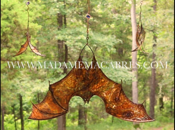 Image of XTRA LARGE Copper Bat - Wind Spinner