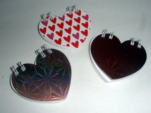 Image of Mini Heart Notebooks