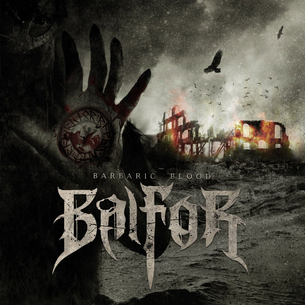 "Image of BALFOR ""Barbaric Blood"" Super Jewel Box CD"