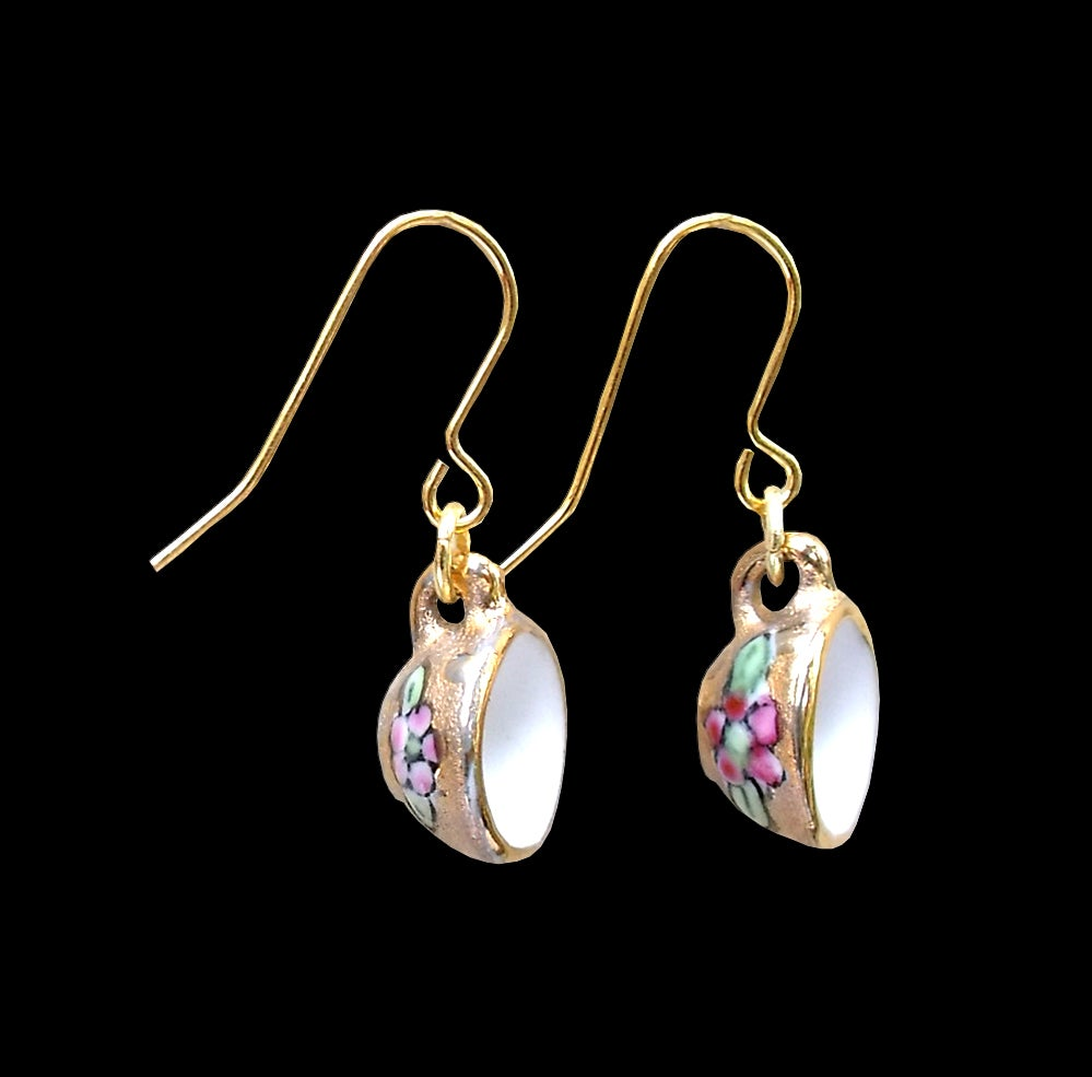 Image of gold earrings