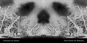 "Image of Guns of Barisal / Throne of Bone Split 7"" Record"