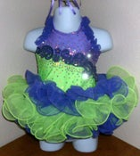 Image of Custom Glitz Pageant Dress Made To Order