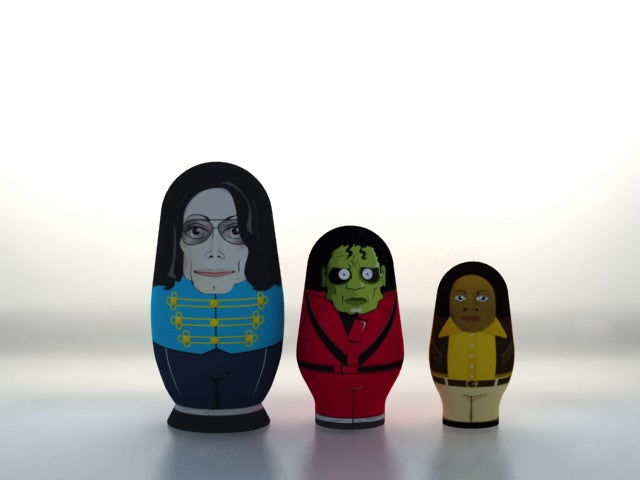 King of pop matryoshka