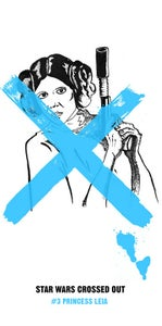 Image of Star Wars Crossed Out #3 Screen Print