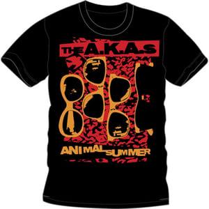 Image of Animal Summer Black T Shirt