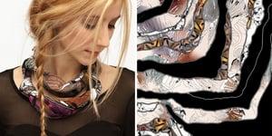 Image of selvaggia - soffio foulard