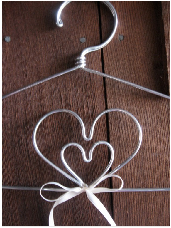 Image of The Original Double Heart Lingerie Hanger