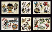 Image of Set of 6 flash sheets